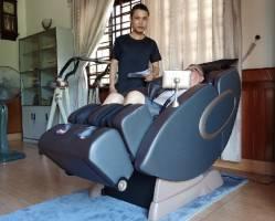 Ghế massage cải thiện sức khỏe tâm trạng tích cực