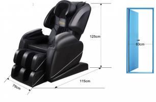 Kích thước chuẩn của ghế massage toàn thân
